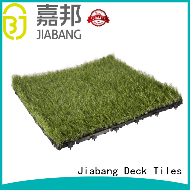 JIABANG hot-sale grass floor tiles on-sale balcony construction