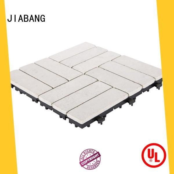 JIABANG limestone travertine floor tile at discount for garden decoration