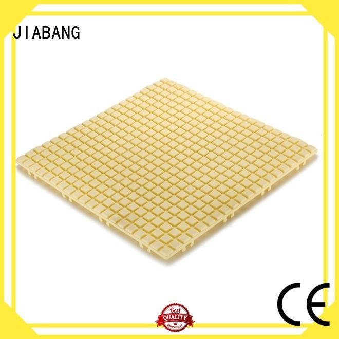 decorative plastic wood tiles non-slip for customization