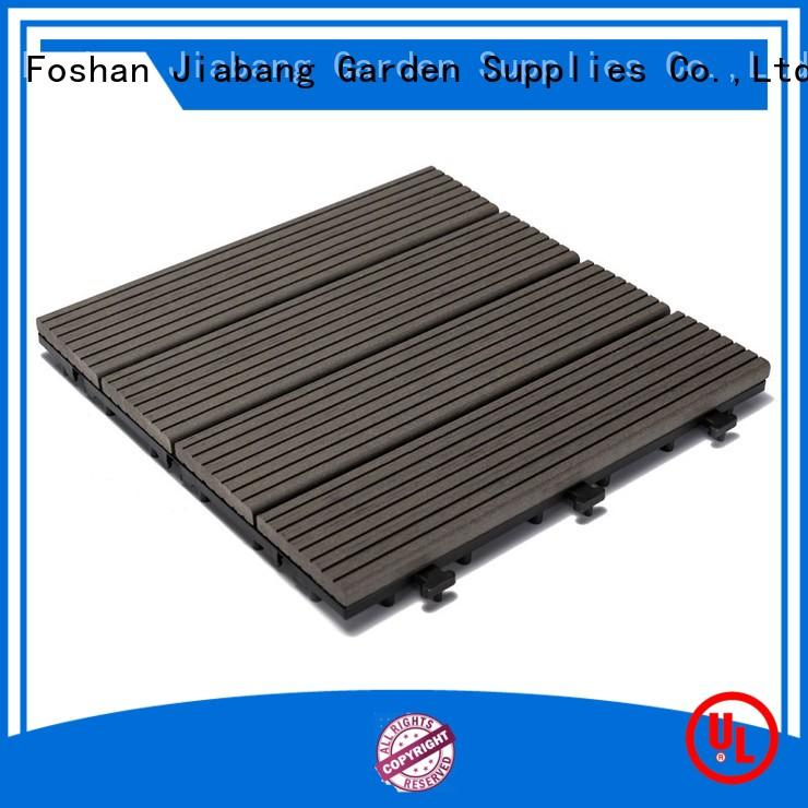 cheapest factory price composite deck tiles outdoor hot-sale top brand
