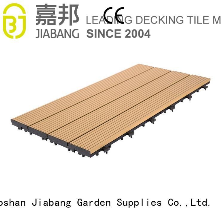 metal look tile metal tiles aluminum deck board JIABANG Brand