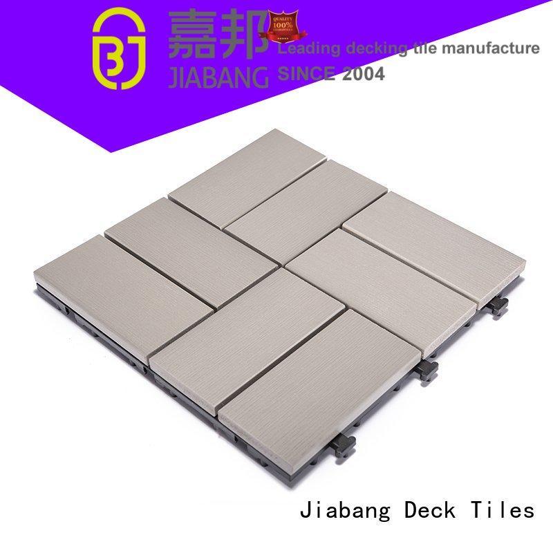 pvc plastic interlocking patio tiles hot-sale garden path JIABANG