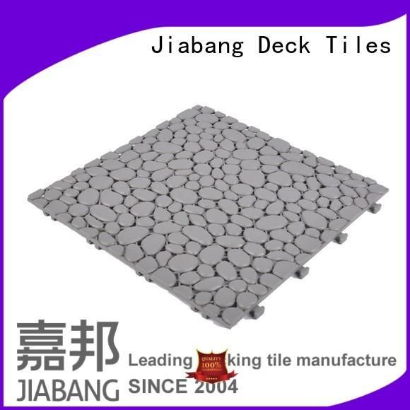 recycled plastic deck tiles kitchen flooring JIABANG