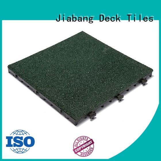 JIABANG professional rubber gym flooring tiles cheap at discount