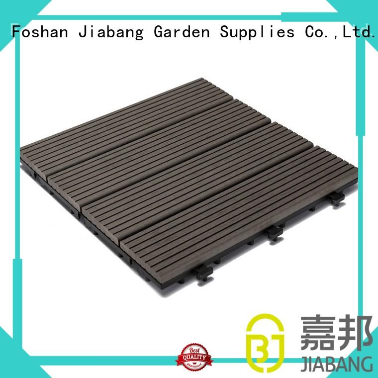 JIABANG cheapest factory price composite patio tiles at discount top brand
