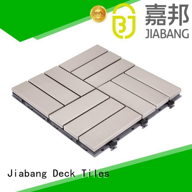 JIABANG pvc plastic garden tiles popular garden path