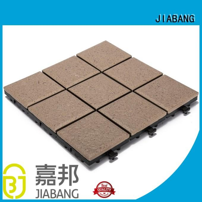 JIABANG exhibition porcelain tile for outdoor patio free delivery at discount