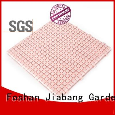 JIABANG plastic decking tiles high-quality kitchen flooring
