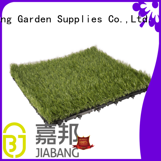 professional deck tiles on grass garden decoration