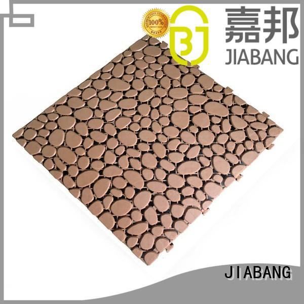 flooring plastic decking tiles non-slip