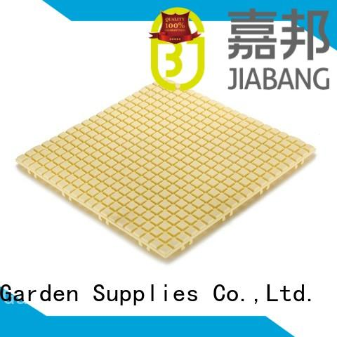 JIABANG hot-sale plastic garden tiles for wholesale