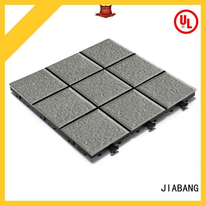 12x12 porcelain porch interlocking Tiles JB5006