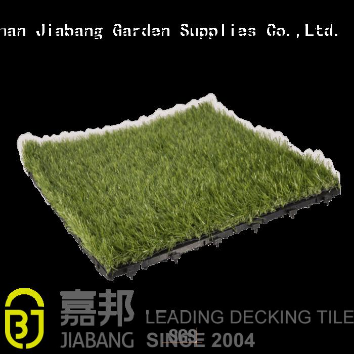 Hot mat interlocking grass mats landscape JIABANG Brand