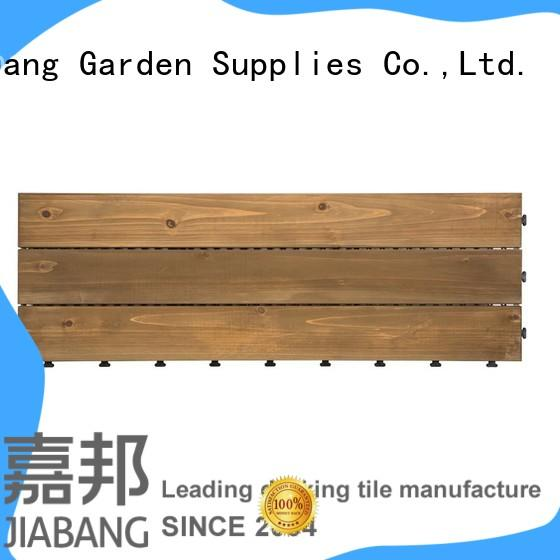 JIABANG outdoor wood deck panels flooring for garden