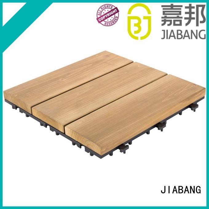 JIABANG refinishing hardwood deck tiles wooddeck for garden