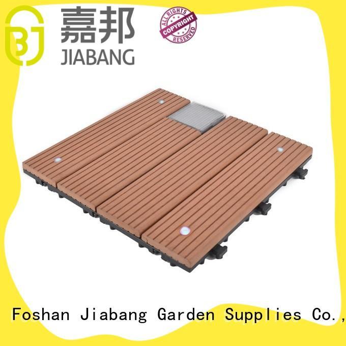 eco-friendly modular decking panels garden lamp JIABANG