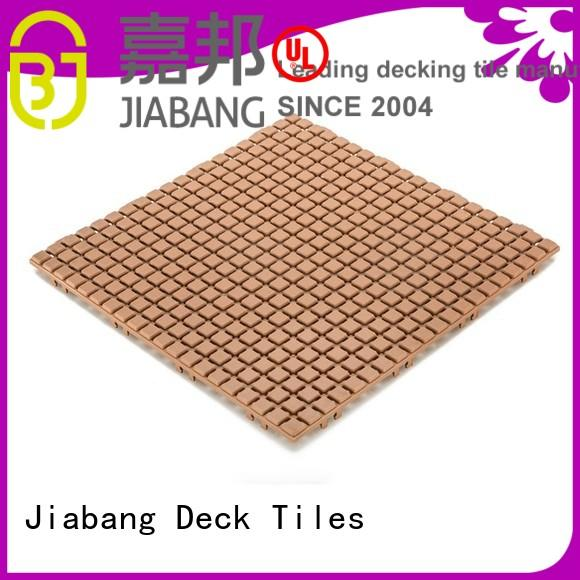 JIABANG Brand mat flooring plastic floor tiles outdoor white