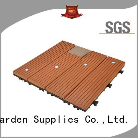 hot-sale snap together deck tiles decorative garden lamp