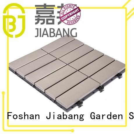 JIABANG wholesale plastic garden tiles popular gazebo decoration