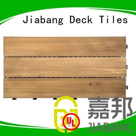 12x12 decking 30x90cm square wooden decking tiles JIABANG Brand
