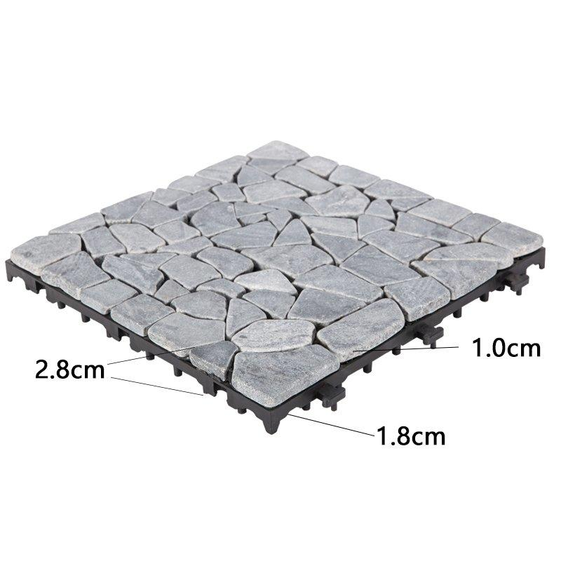 JIABANG interlocking outdoor travertine pavers wholesale for garden decoration-3