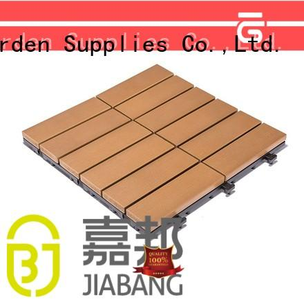 JIABANG light-weight outdoor plastic tiles popular home decoration