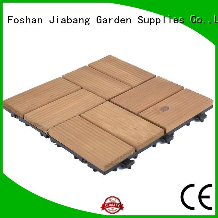 outdoor hardwood deck tiles flooring for balcony