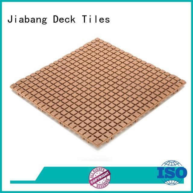 JIABANG hot-sale outdoor plastic tiles non-slip kitchen flooring