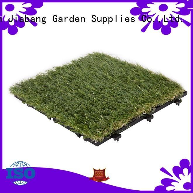 Garden floor design artificial grass deck tiles G014