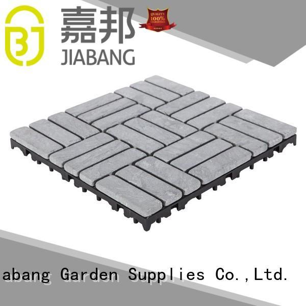 JIABANG Brand distribution limestone snap travertine deck tiles