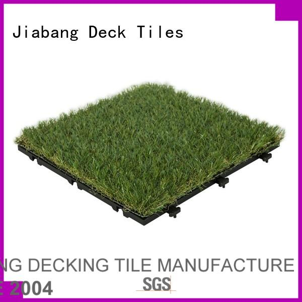 artificial grass decking tiles landscape path building JIABANG