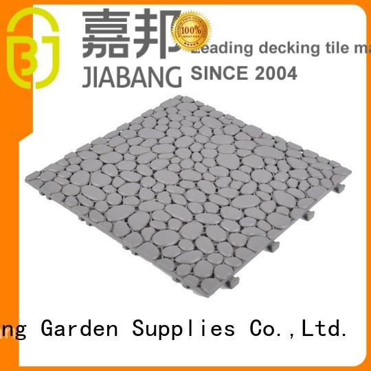 decorative outdoor plastic deck tiles high-quality