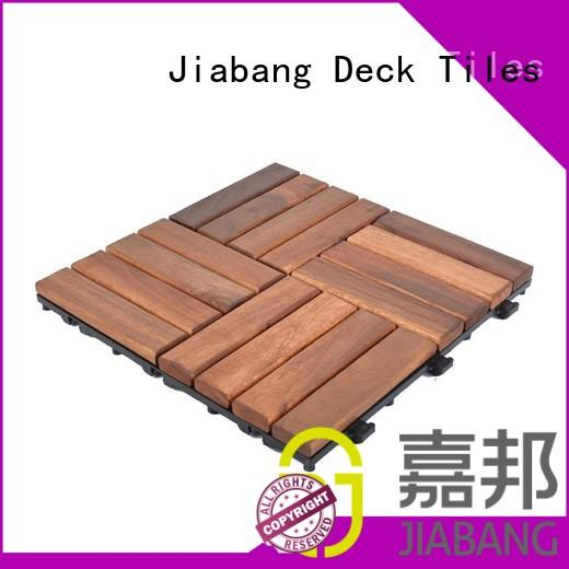 stable acacia wood tile solid wood cheapest factory price easy installation