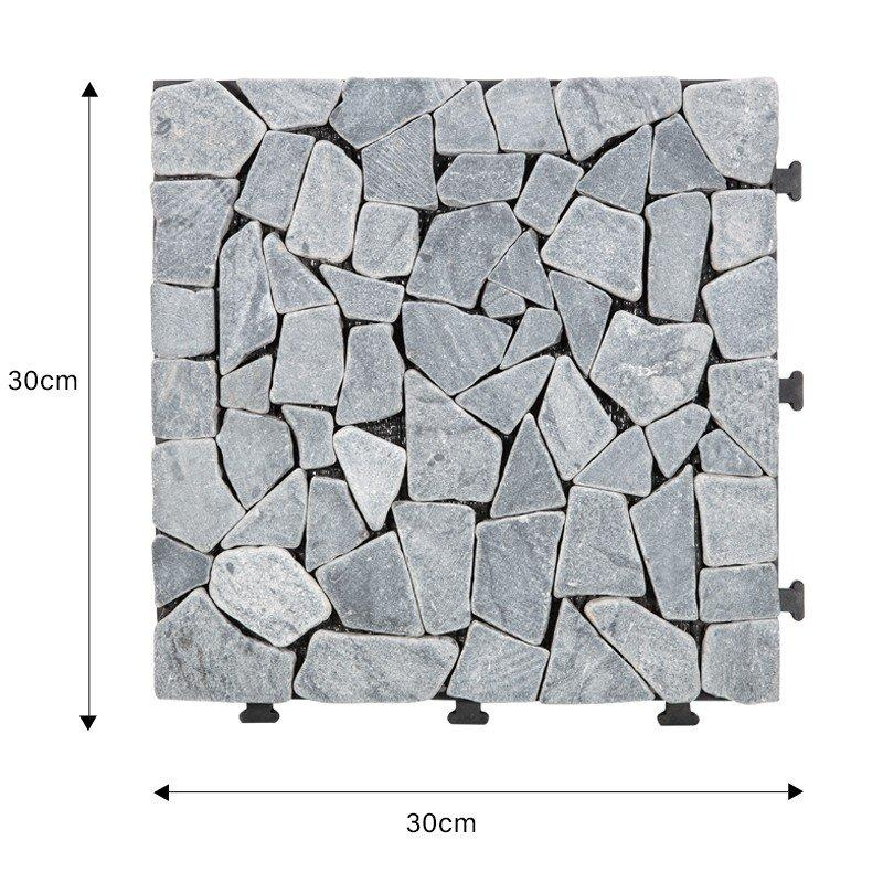 JIABANG interlocking outdoor travertine pavers wholesale for garden decoration-1