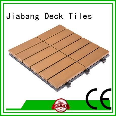 JIABANG durable outdoor plastic tiles popular gazebo decoration