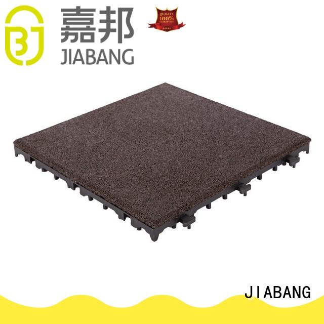 JIABANG highly-rated gym floor tiles interlocking light weight for wholesale