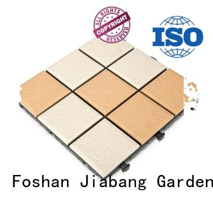 porch ceramic deck tiles best manufacturer for office JIABANG