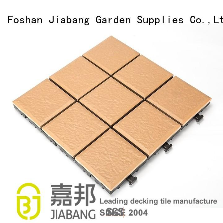 Hot ceramic garden tiles deck JIABANG Brand