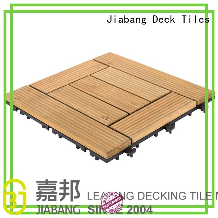 square wooden decking tiles long Bulk Buy size JIABANG
