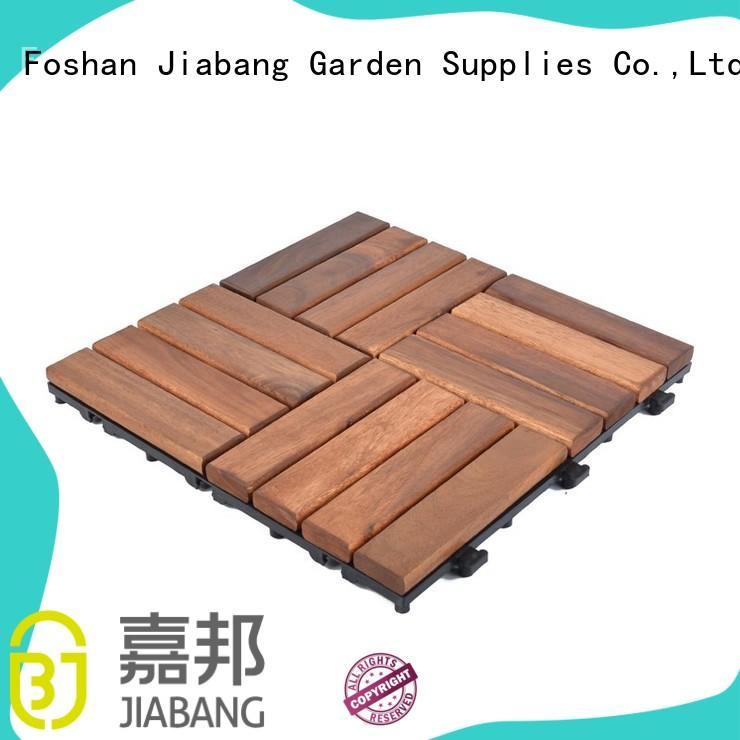 JIABANG outdoor acacia tile at discount