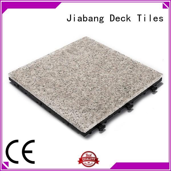 JIABANG granite deck tiles at discount for porch construction