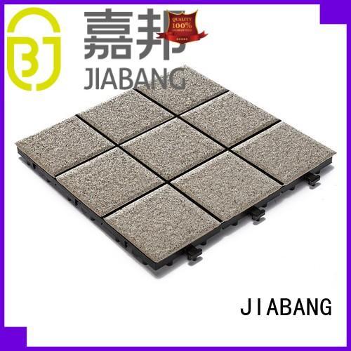 interlocking paver decking 10cm JIABANG Brand porcelain patio tiles supplier