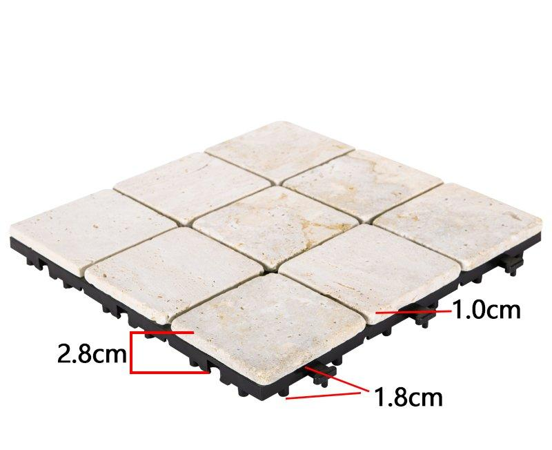hot-sale tumbled travertine tile natural wholesale for playground-3