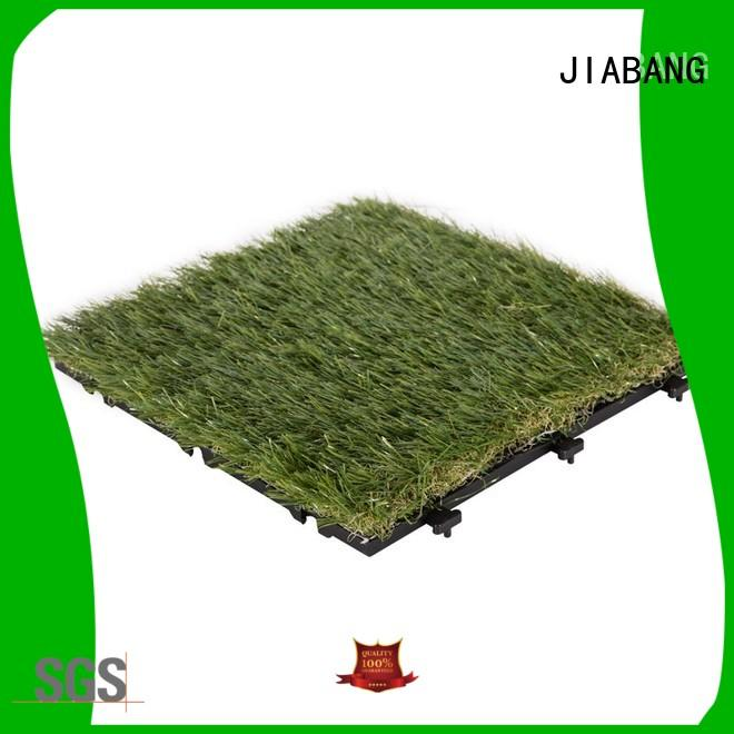JIABANG permeable fake grass squares easy installation for garden