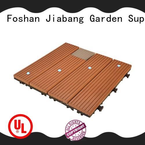 JIABANG high-quality snap together deck tiles protective garden lamp