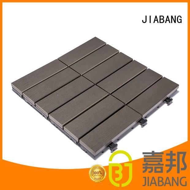 JIABANG light-weight plastic garden tiles high-quality gazebo decoration