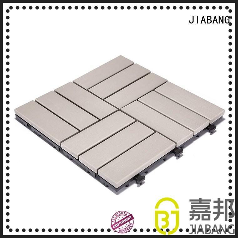 JIABANG pvc plastic patio tiles popular garden path