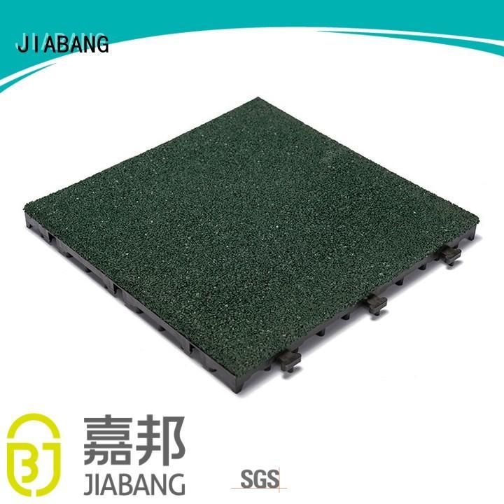 together gym interlocking rubber mats soft floor JIABANG company