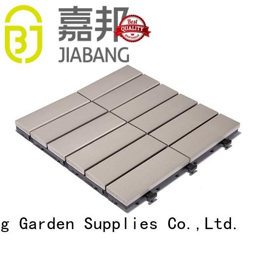 high-end plastic patio tiles pvc anti-siding garden path