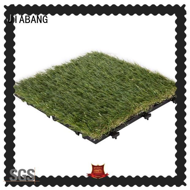 Garden grass permeable artificial grass deck tiles G016